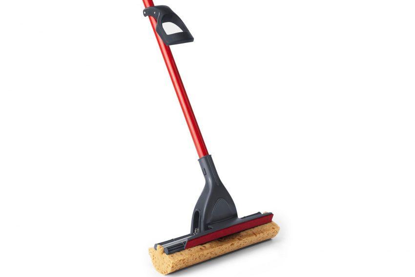 use a Magic Eraser mop